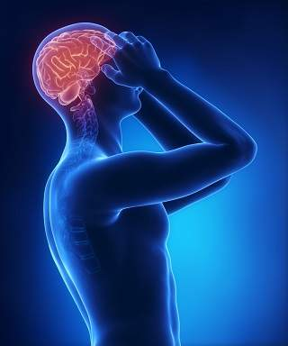 migraine aura pain