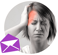 sign up treat headaches newsletter